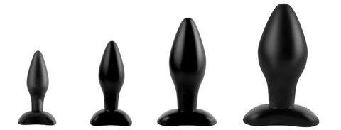 Graduated Anal Fantasy Collection Anal Plugs from mini to large