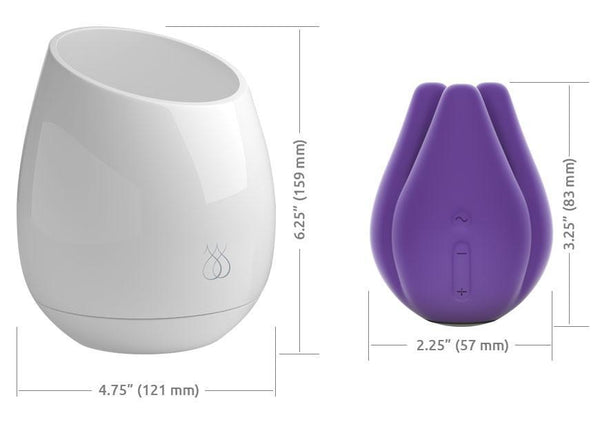 JimmyJane Pure UV Sanitizing Mood Light Plus Love Pod Tre Dimensions