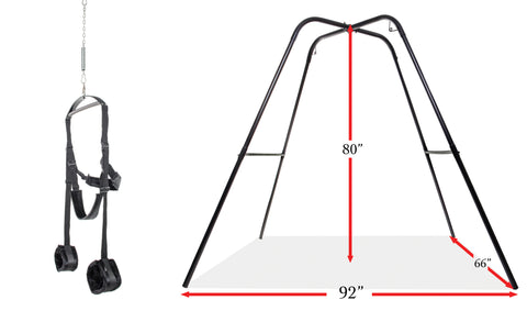 Sex Swing Harness and Sex Swing Frame