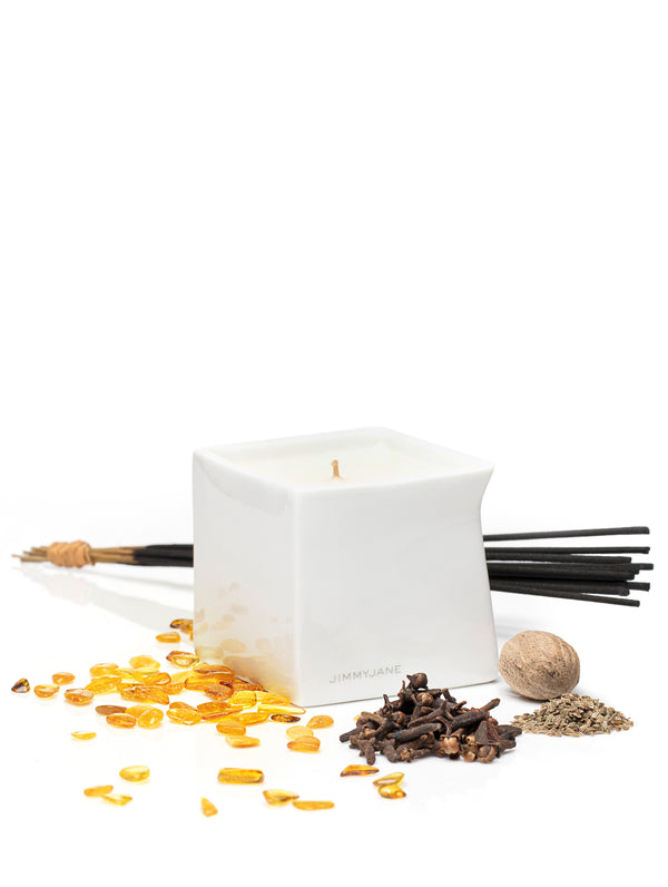 Afterglow Massage Oil Candle Velvet Spice