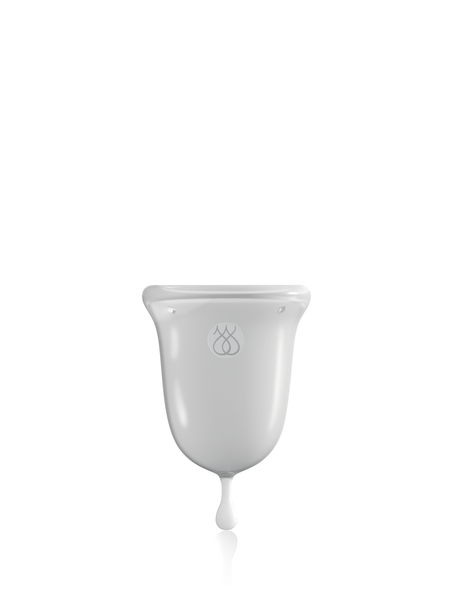 JimmyJane INTIMATE CARE Menstrual Cup Clear #clear