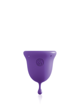 JimmyJane INTIMATE CARE Menstrual Cup Purple