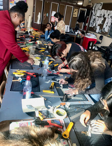 Donate LeatherCraft Classes to Community Students
