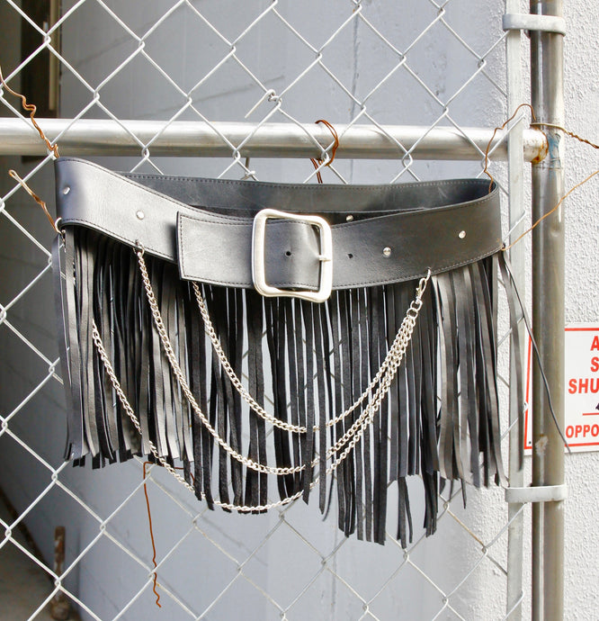 Fringe Chain Belt