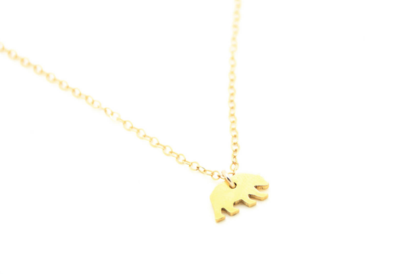 Tiny Bear Necklace