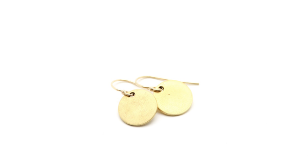 Golden Halo Earrings