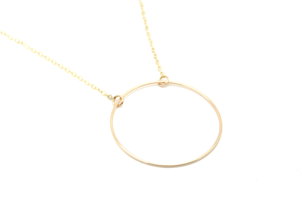 Large Circle of Hope Necklace