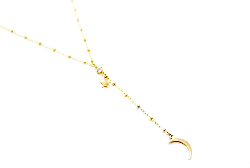 Galaxies Lariat Necklace