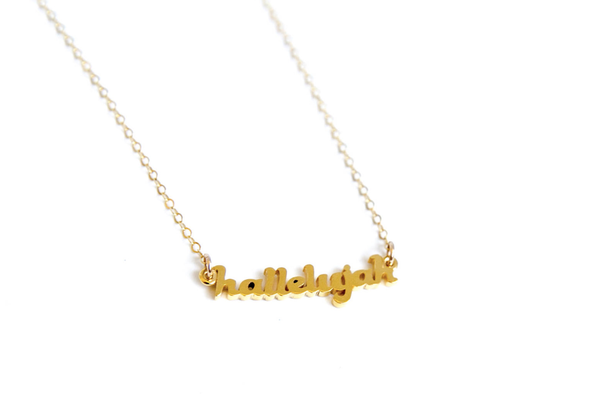 Hallelujah Necklace
