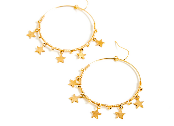 Shining Star Hoops