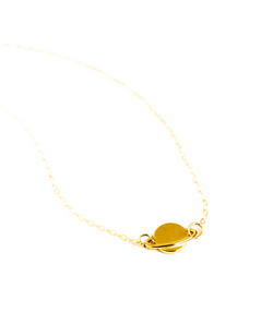 Saturn Ring Necklace