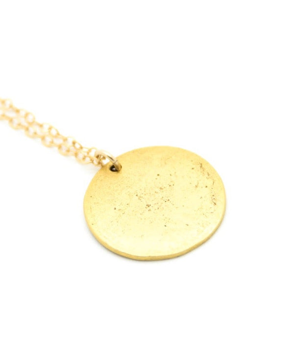 Golden Halo Necklace