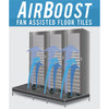 Airboost Fan Assisted Floor Tiles