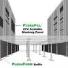 Plenafill® Blanking Panels 270-U ($2.78 per U)**Use code Cybersale for 10% off your Cyber Monday week orders!**