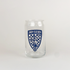 Indy Eleven Crest Glass
