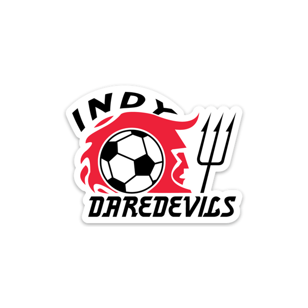 Indy Daredevils Sticker