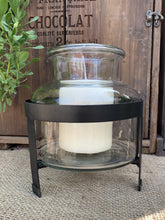 Load image into Gallery viewer, Belgo Jar Lantern On Metal Stand - Abigailshome
