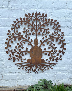 Bodhi Tree Wall Plaque - Abigailshome
