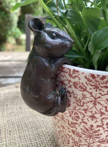 Mouse Plant Pot Decoration - Abigailshome