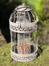 Load image into Gallery viewer, Rustic Metal Birdcage Bird Feeder - Abigailshome