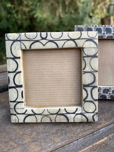 Small Square Photo Frame - Circles - Abigailshome