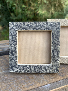 Small Square Photo Frame - Leaves - Abigailshome