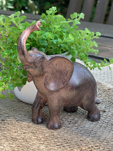 Small Standing Elephant - Abigailshome