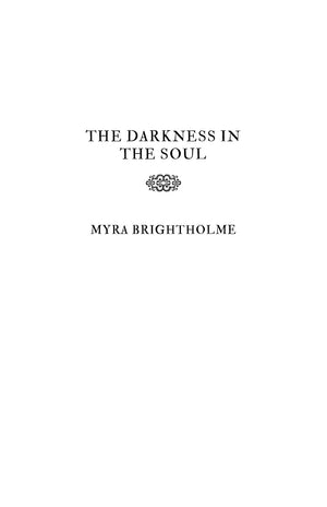 The Darkness In The Soul Book Series