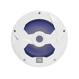 "JBL - Marine Series 10"" (250mm) audio multi-element subwoofer with RGB lighting 250W – White"