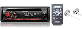 Pioneer Single Din In-Dash CD/CD-R/Rw, MP3/Wma/Wav Am/FM Front USB/Auxiliary Input MIXTRAX and Arc Support Car Stereo Receiver Detachable Face Plate