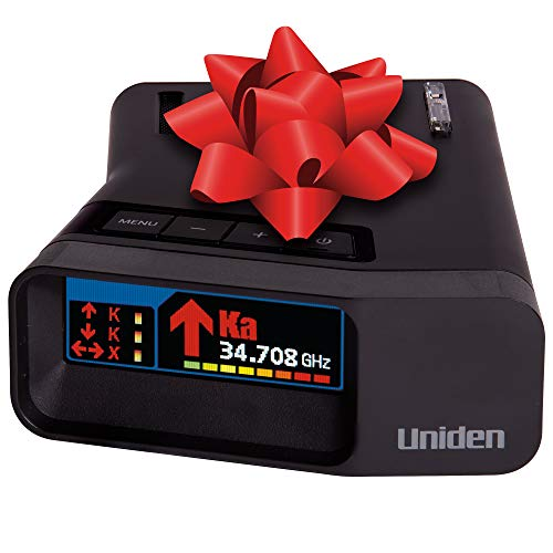 Uniden R7 EXTREME LONG RANGE Laser/Radar Detector, Built-in GPS w/ Real-Time Alerts, Dual-Antennas Front & Rear w/Directional Arrows, Voice Alerts, Red Light Camera and Speed Camera Alerts