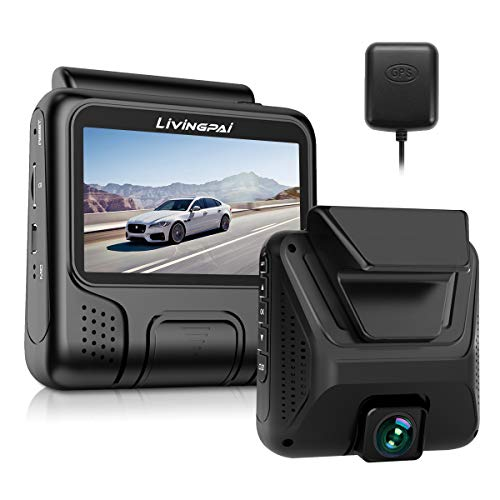 4K Dash Cam Built-in WiFi GPS Car Dashboard Camera Recorder with UHD 2880x2160P,Night Vision,3.0