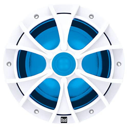 Dual Electronics WDCL65 6.5-inch Illuminated Marine Speakers