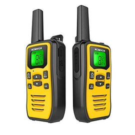 Rechargeable Walkie Talkies for Adults Long Range Handheld Two Way Radio, 2 Way Radio Survival Gear Equipment, 22 Channels 121 Privacy Codes VOX Scan, Alert + LED Flashlight for Camping