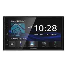 "Kenwood DMX4707S 6.8"" Capacitive Touch screen Digital Multimedia Receiver with Apple CarPlay & Android Auto (does not play CDs)"