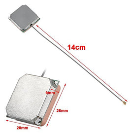 28db High Gain GPS Built-in Ceramic Active Antenna for Marine Navigation