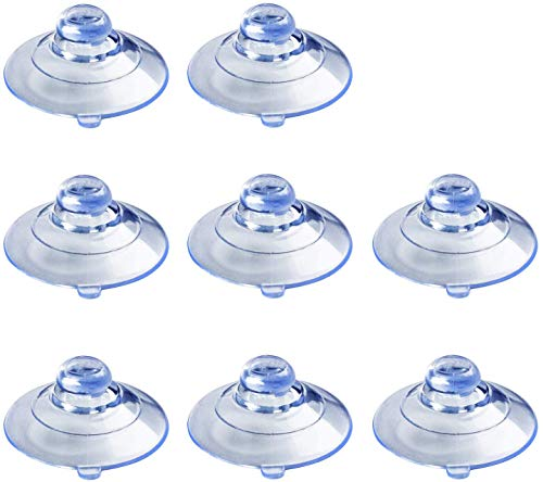 HSTECH 8 Pcs Radar Detectors Suction Cups for Clear Cobra Escort and Beltronics Radar Detector Mount
