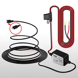 12-24 Volt to Micro USB Vehicle Car Marine Wiring Cable & Power stabilizer Kit for Tracki GPS Tracker