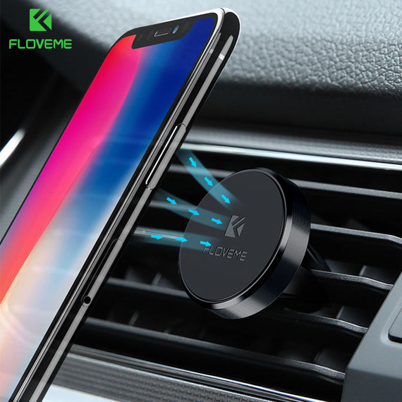 93876c78a62 FLOVEME Universal Magnetic Car Phone Holder For iPhone X Samsung Xiaomi Accessory  Magnet Air Vent