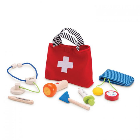 Wonderworld Handy Doctor Set Wooden Toddler Toy 36+ Months