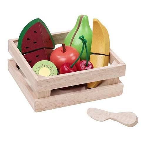 Wonderworld Fruit Basket Wooden Toddler Toy 36+ Months