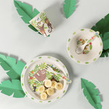 TREETOP FRIENDS BAMBOO TABLEWARE SET