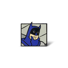 Load image into Gallery viewer, Thinking Batman Enamel Pin
