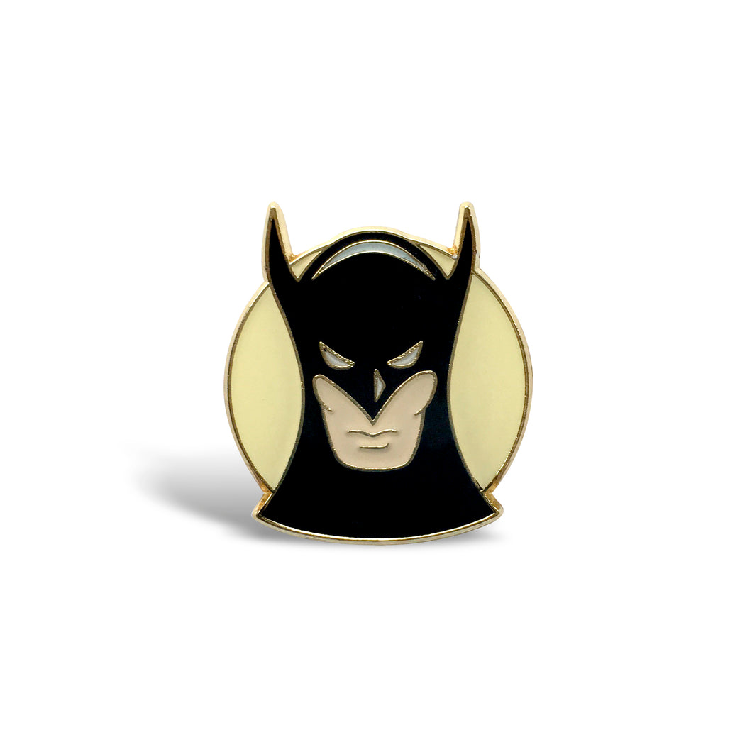 Batman Vintage Enamel Pin