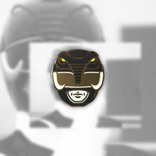 Load image into Gallery viewer, Black Ranger Enamel Pin