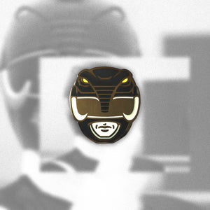 Black Ranger Enamel Pin