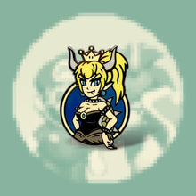 Load image into Gallery viewer, Bowsette Enamel Pin