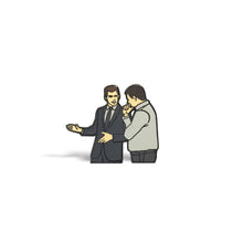Load image into Gallery viewer, Car Salesman Enamel Pin