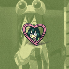 Load image into Gallery viewer, Froppy Heart Enamel Pin