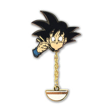 Load image into Gallery viewer, Grubbin' Goku Chain Pin